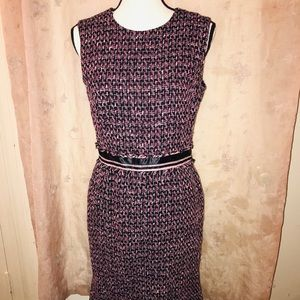 Wool dress worn but in good condition size 6